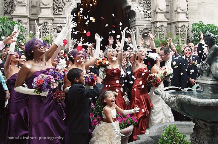 Dark Red And Purple Weddings Fit For A Queen