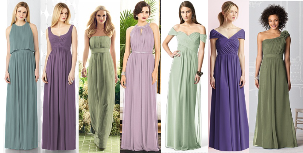 d193681c22 Inspired by the Yorkshire moors - heather bridesmaid dresses
