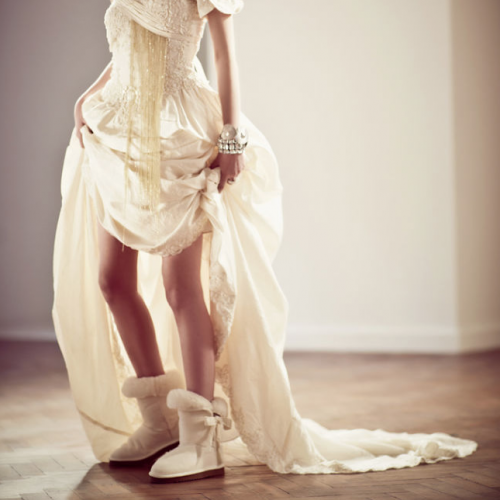 929853406f Winter Wedding Boots