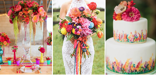 technicolour wedding