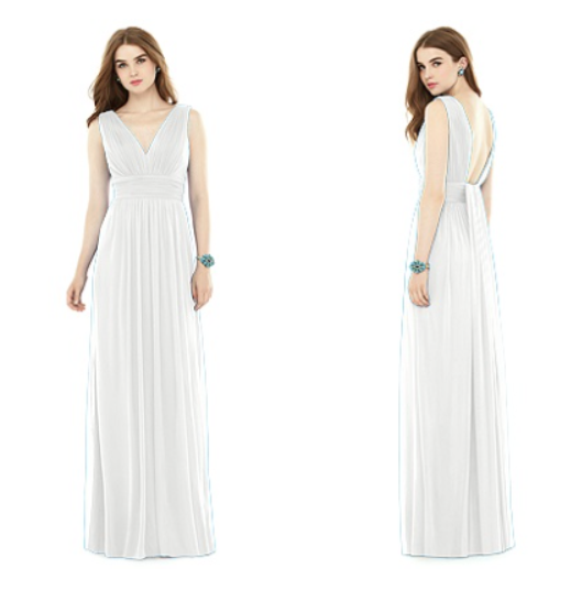 white evening gowns