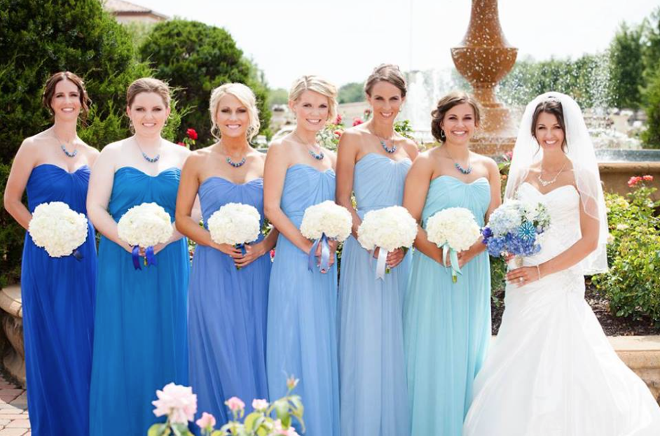 Beautiful Shades Of Blue For Wedding Gallery - Styles & Ideas 2018 ...