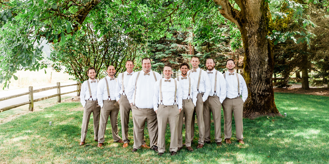 How to Dress Your Groomsmen with Style
