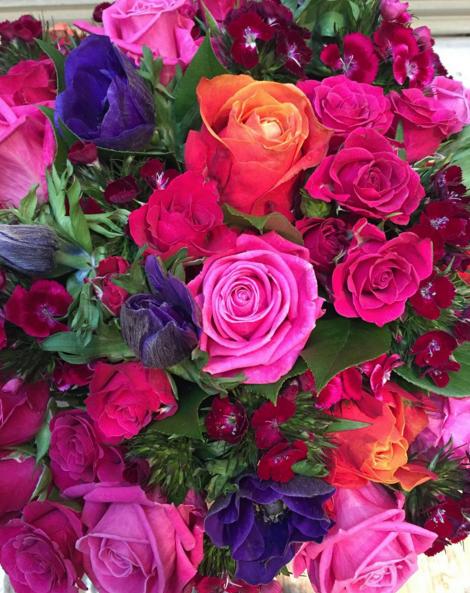 les fleurs vives pour mariage