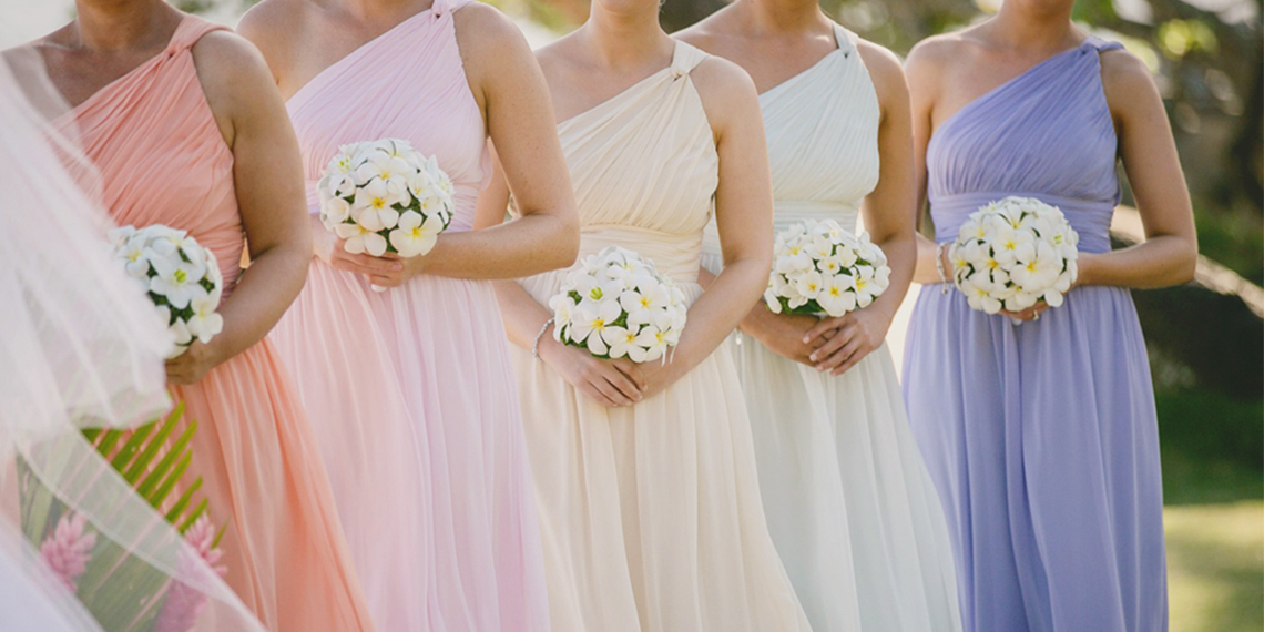 The Top Wedding Color Schemes For Spring