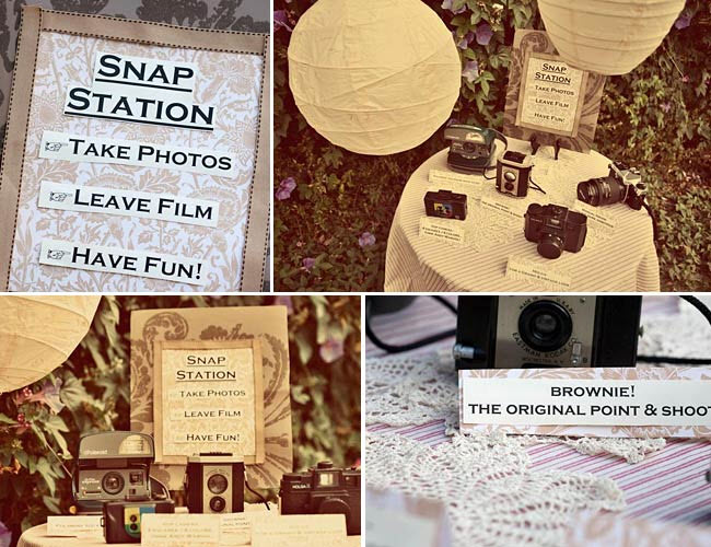 DIY Wedding Ideas: The Photo Booth Station