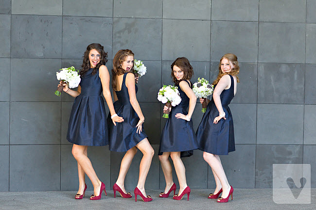 A Feature On Dessy Bridesmaid Dresses