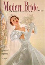 Modern Bride cover 1949