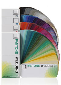 Pantone Wedding Swatch Color Guides