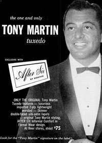 Tony Martin Tuxedo: After Six