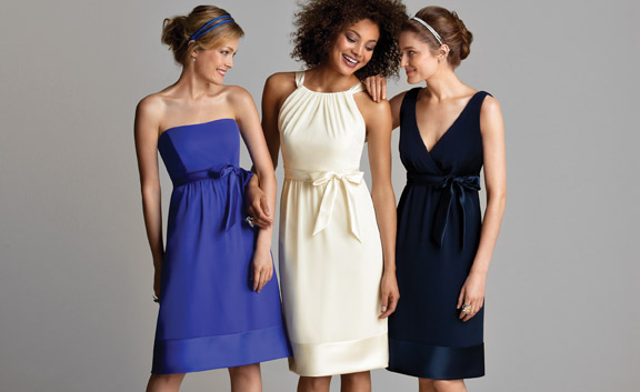 Simple Wedding Dresses Over 40: Bridesmaids Style Goes Beyond The