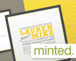 Wedding Invitations by Minted