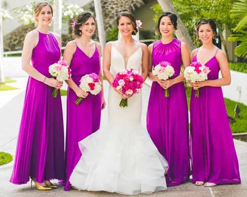 Shop Bridesmaid Dresses By Color The Dessy Group