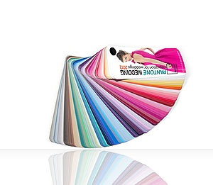 PANTONE WEDDING 2012 Fan Guide