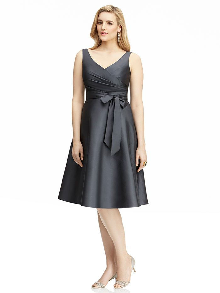 Plus size bridesmaid dresses the dessy group for Wedding dresses for larger sizes
