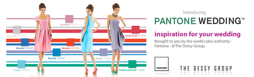 Pantone Weddings - Inspiration for your wedding