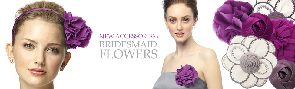 Dessy Wedding Accessories - Flowers