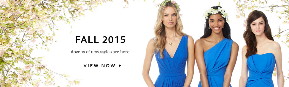 Social Bridesmaids Dresses - Fall 2015 Styles