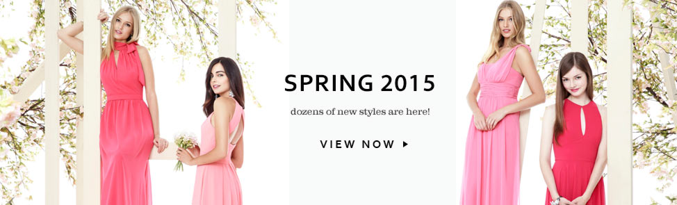 Social Bridesmaids Dresses - Spring 2015 Styles