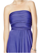 Strapless Convertible Wrap Dress