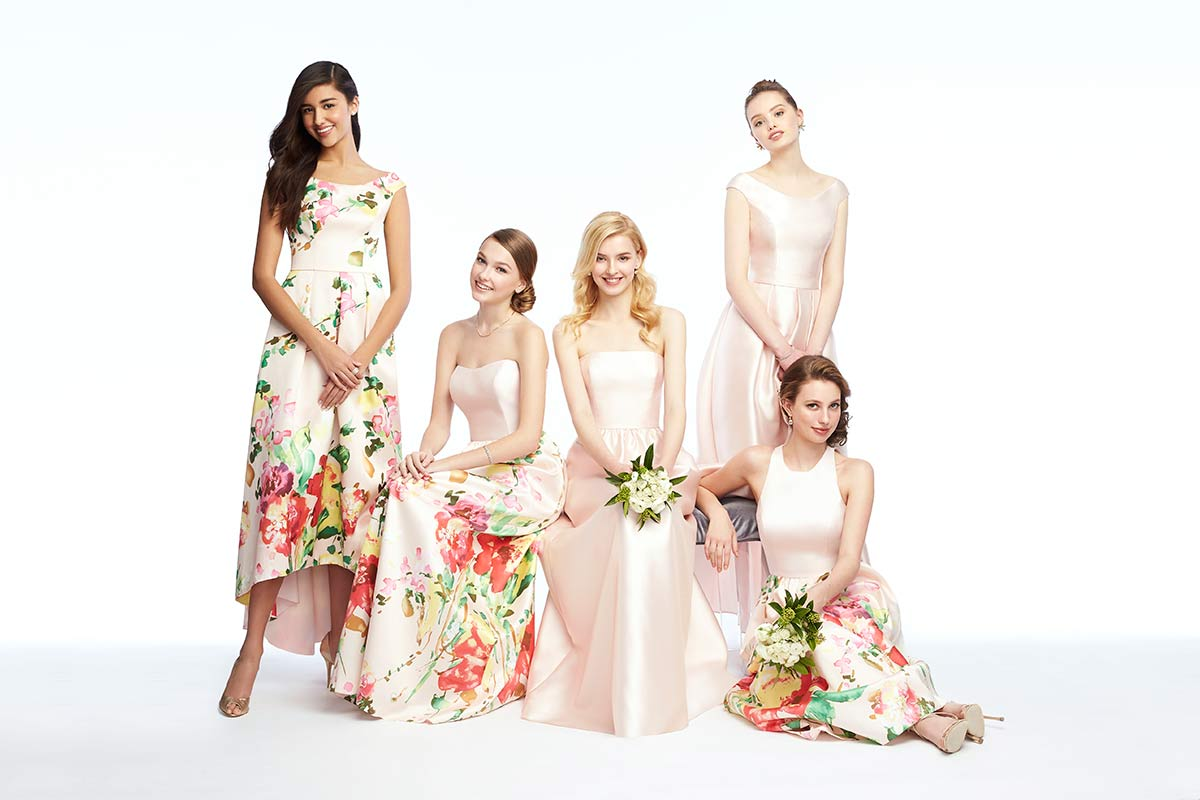 Mix Match Bridesmaid Dresses In Fls