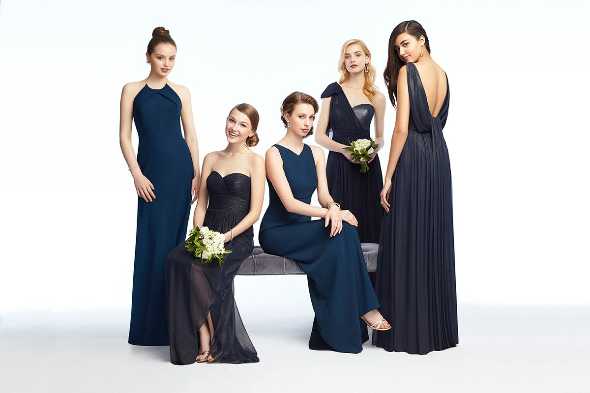 329440a6d40 Mix   Match Bridesmaid Dresses in Midnight
