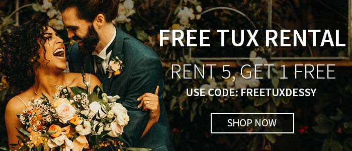 Free Tux Rental for the Groom