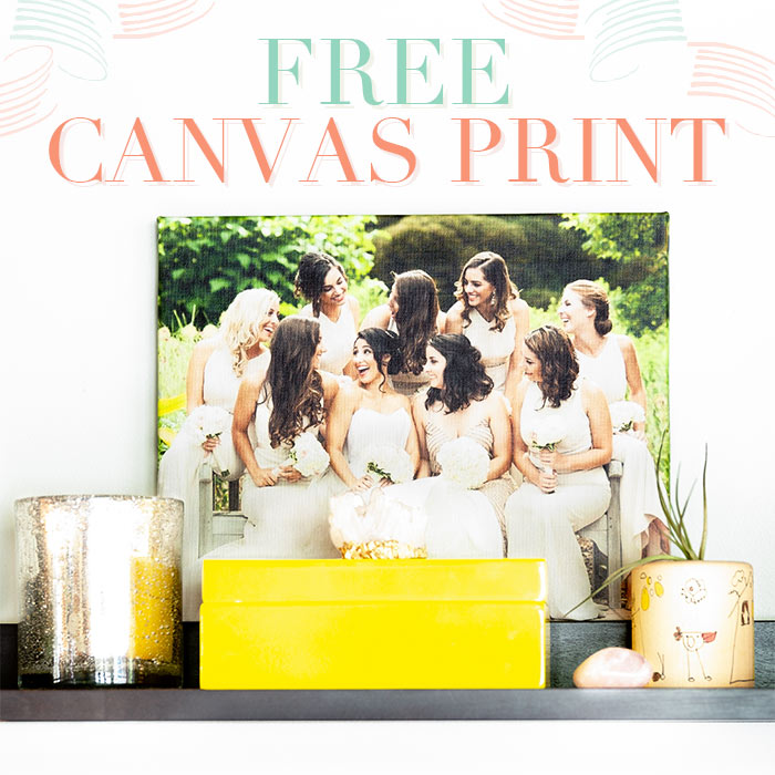 Share Your Photo, Get A Free Canvas Print