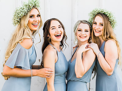 Thread Bridesmaid Inspiration - Platinum
