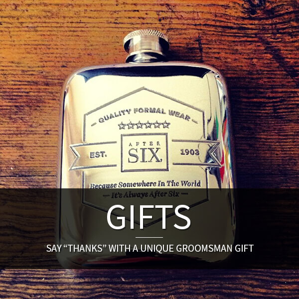 Groomsmen Gifts: Say Thanks with a unique groomsman gift.