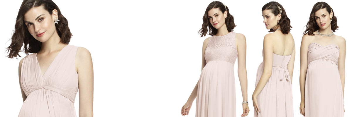 The Dessy Group Maternity Bridesmaid Dresses