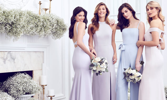 a1990b56ecc Rose Gold Bridesmaid Dresses
