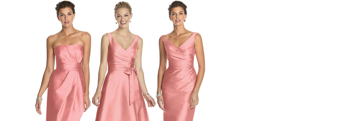 Quick Delivery Bridesmaid Dresses - Ship Immediately