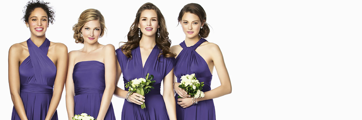 What Shoes To Wear With Purple Bridesmaid Dress