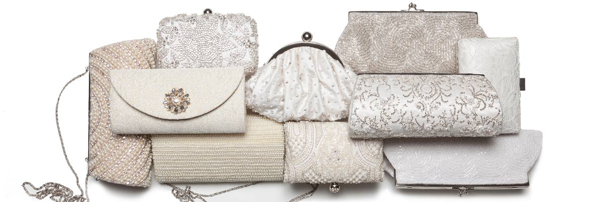 Wedding Clutches, Handbags and Totes.