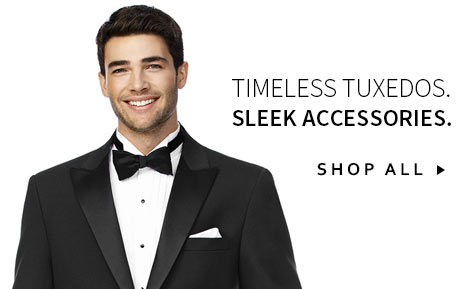 Timeless Tuxedos. Sleek Accessories.