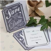Quick & Inexpensive Save The Date Cards