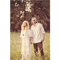 Engagement Shoot with a Boho Theme
