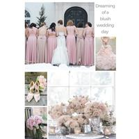 Blush pink bridesmaid dresses all girls will want to wear