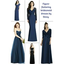 16e32e8c20b A little-known secret about flattering dresses - it s all about the fabric  and color