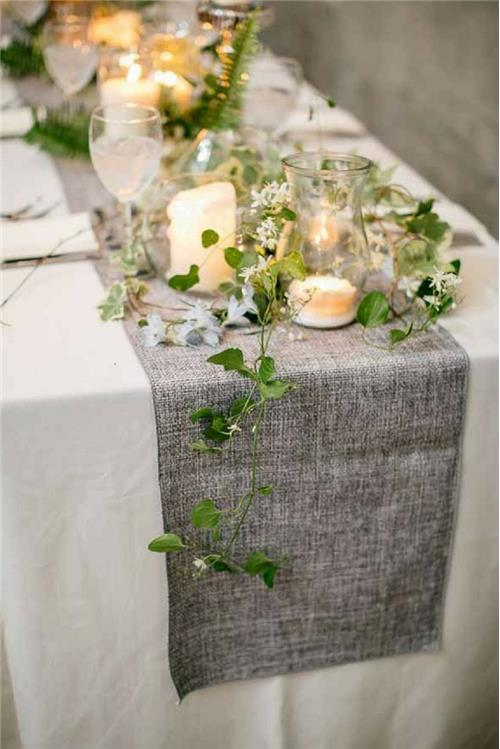 6 novel ways to decorate your wedding tables on a budget