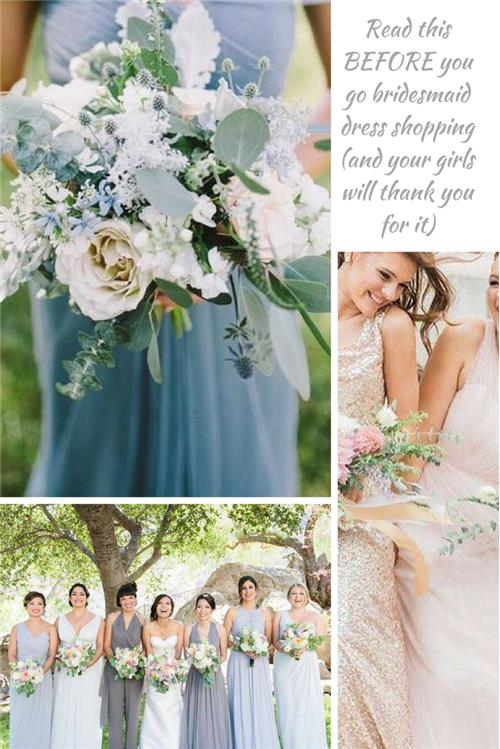 Make sure you read this BEFORE you start bridesmaid dress shopping